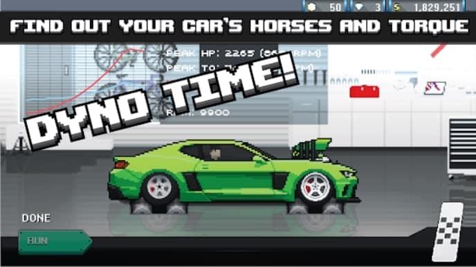Pixel Car Racer андроид