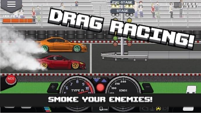 Pixel Car Racer деньги