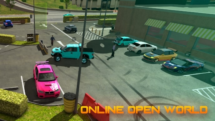 Car Parking Multiplayer мод