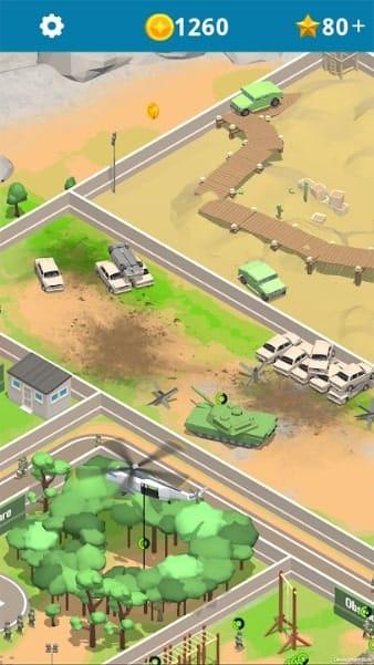 Idle Army Base мод