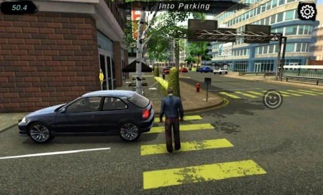 Manual Car parking мод
