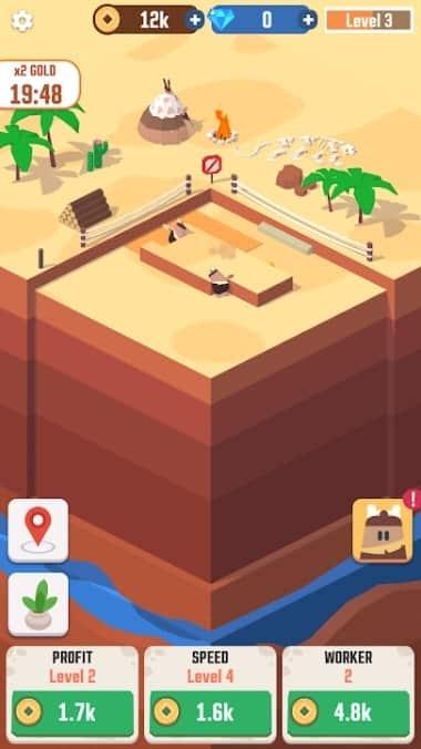 Idle Digging Tycoon андроид