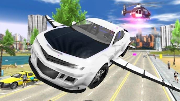 Flying Car Transport Simulator андроид
