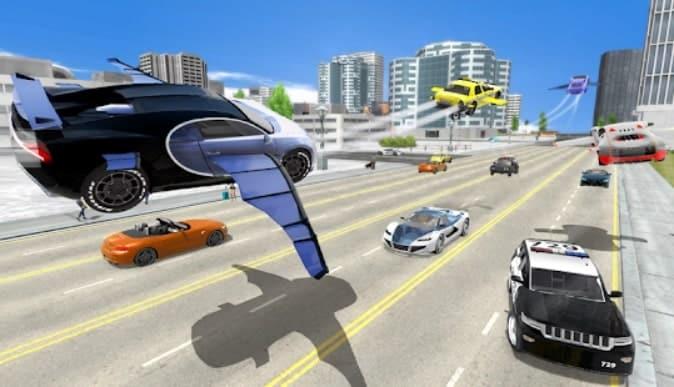 Flying Car Transport Simulator читы