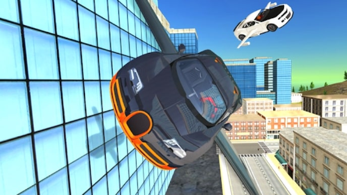 Flying Car Transport Simulator скачать