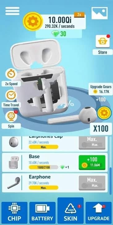 Idle Gadgets андроид