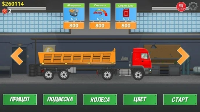 Trucker Real Wheels андроид