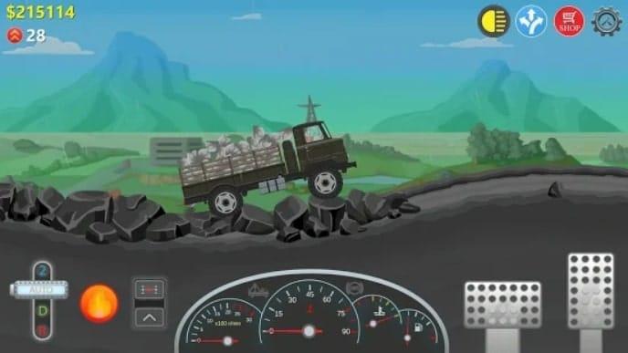 Trucker Real Wheels читы
