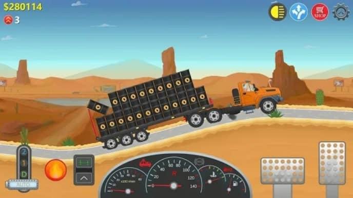 Trucker Real Wheels мод