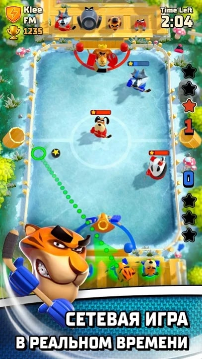 Rumble Hockey андроид