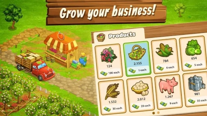 Big Farm: Mobile Harvest мод