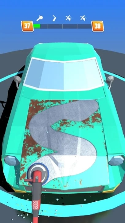 Car Restoration 3D андроид