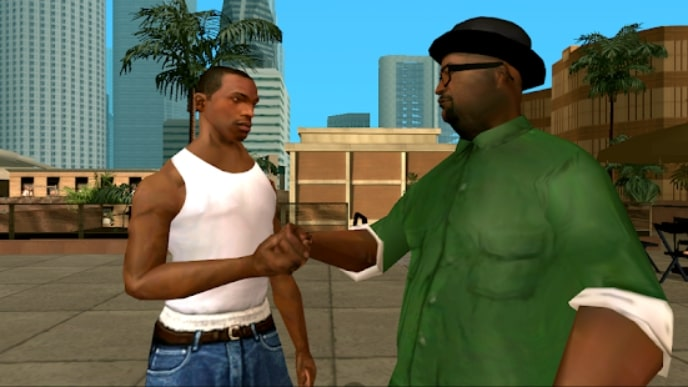 Grand Theft Auto: San Andreas андроид