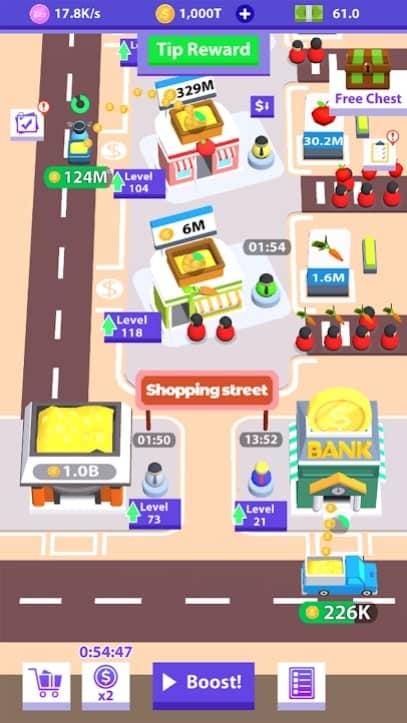 Idle Bazaar андроид