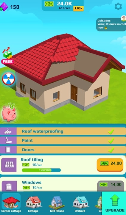 Idle Home Makeover читы