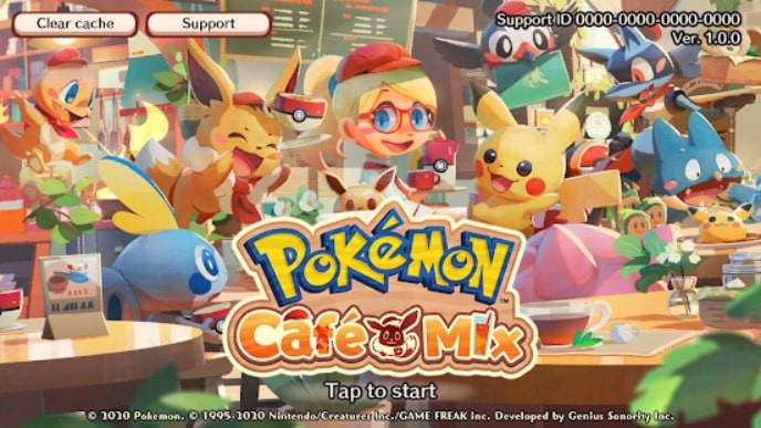 Pokemon Cafe Mix андроид