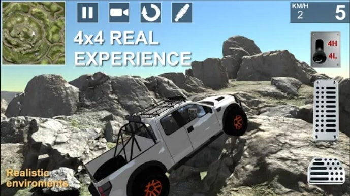 TOP OFFROAD Simulator андроид