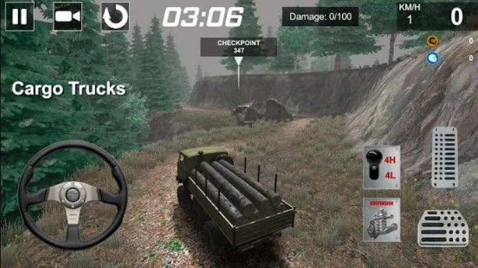 TOP OFFROAD Simulator мод