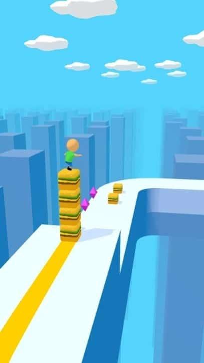 Cube Surfer андроид