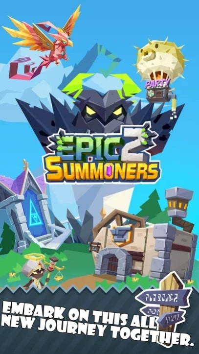 Epic Summoners 2 андроид