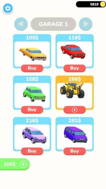 Fury Cars мод