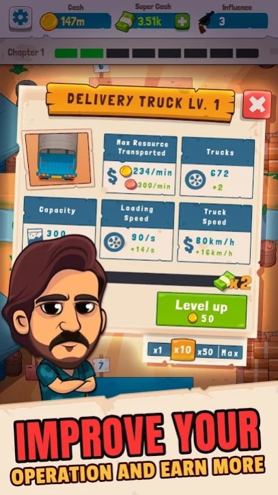 Narcos: Idle Cartel мод