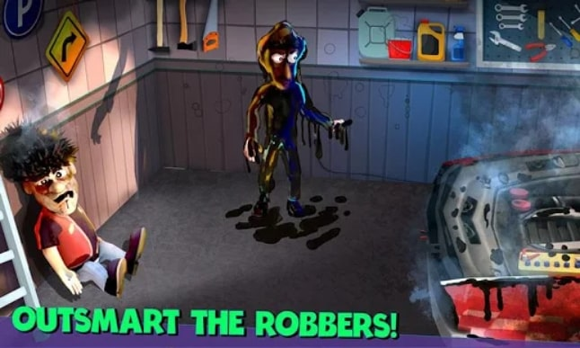 Scary Robber Home Clash читы