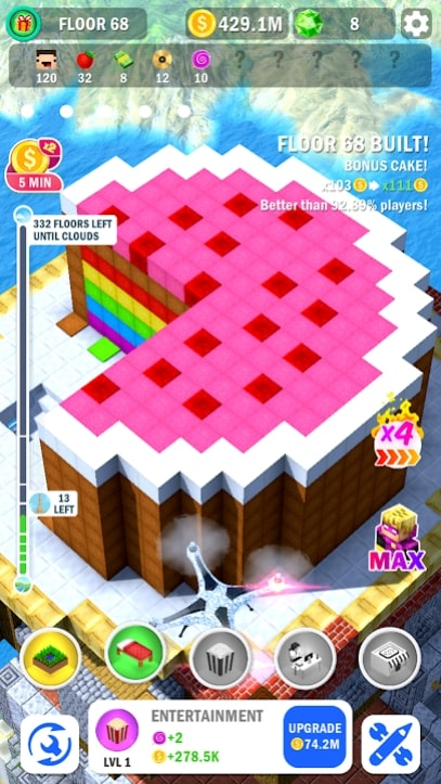 Tower Craft 3D мод
