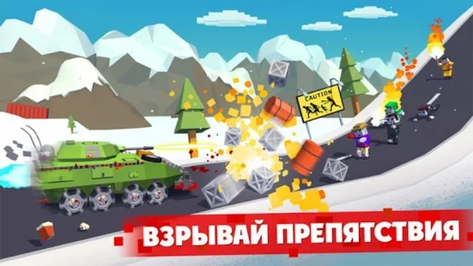 Zombie Derby: Pixel Survival андроид