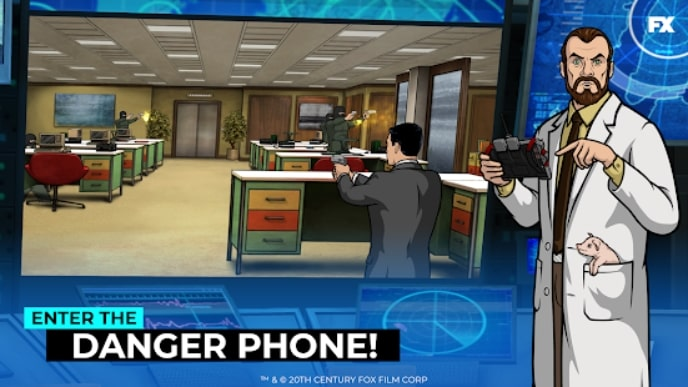 Archer: Danger Phone мод