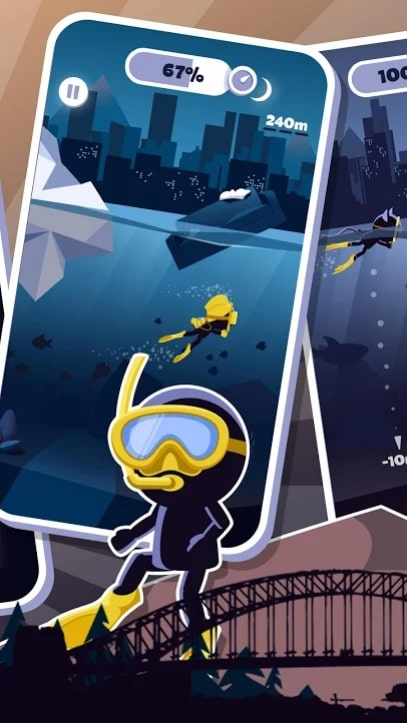 Crazy Diver андроид