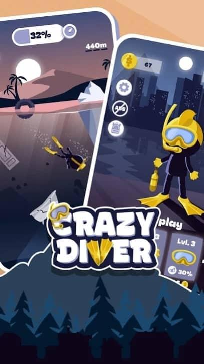 Crazy Diver скачать