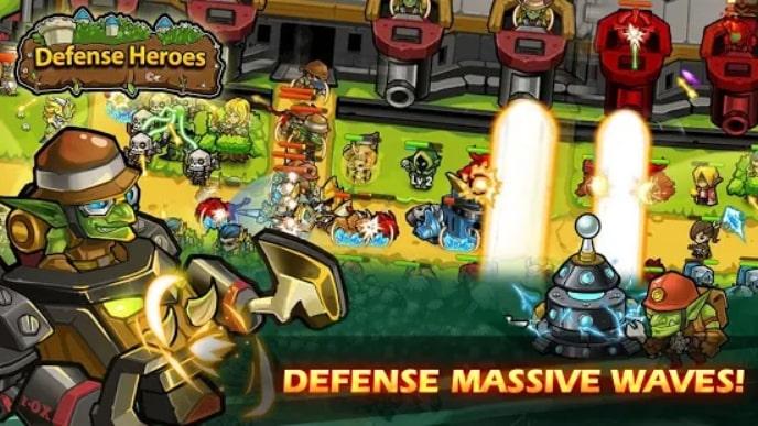 Defense Heroes скачать