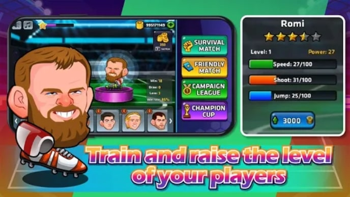 Head Soccer - Star League читы