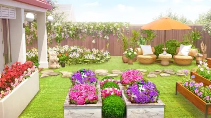 Home Design: My Dream Garden мод
