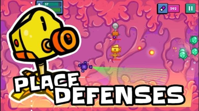 Hyper Cell Defense мод