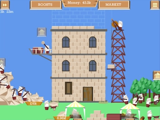 Idle Tower Builder мод