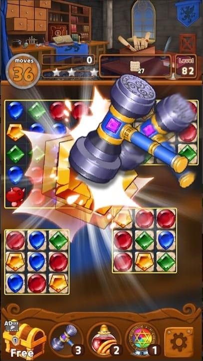 Jewels Magic Kingdom андроид