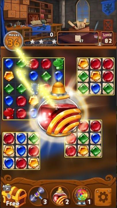 Jewels Magic Kingdom мод
