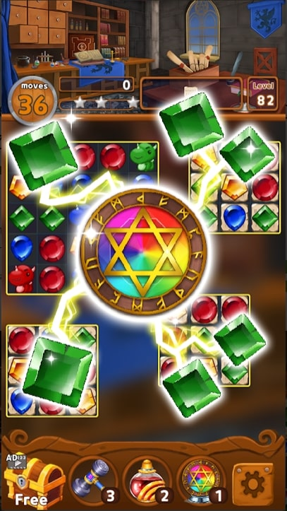 Jewels Magic Kingdom скачать