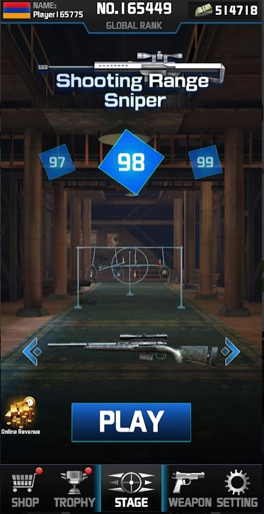 Shooting Range Sniper андроид