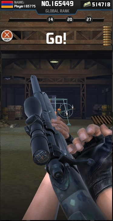 Shooting Range Sniper мод