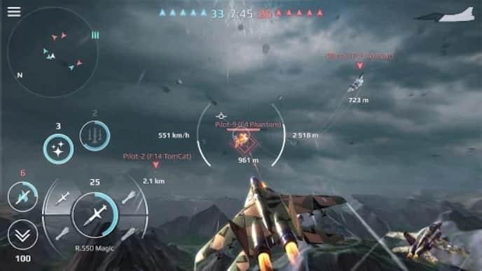 Sky Combat мод