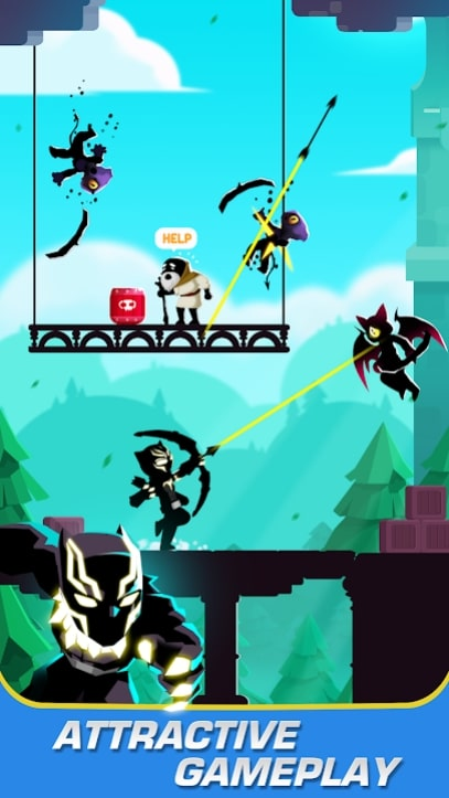 Stick Heroes: Arrow Master читы