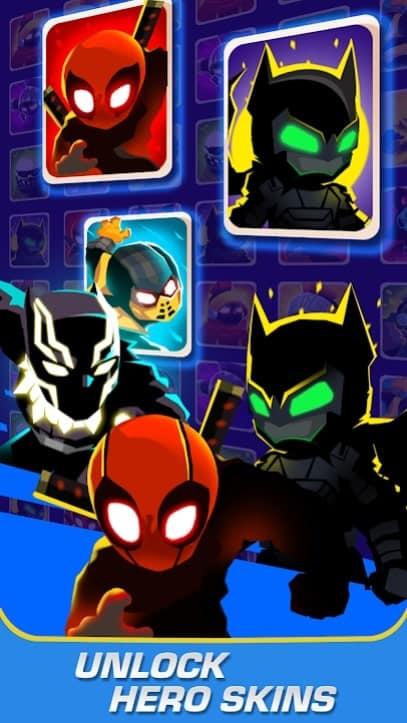 Stick Heroes: Arrow Master мод