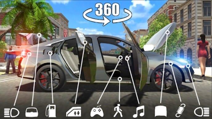 Car Simulator Civic: City Driving андроид