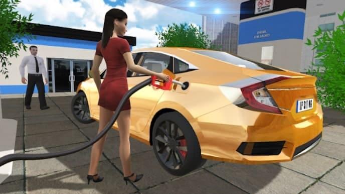 Car Simulator Civic: City Driving читы