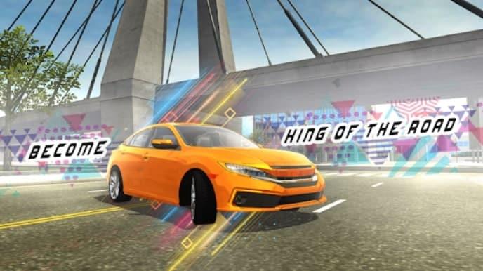 Car Simulator Civic: City Driving мод