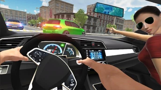 Car Simulator Civic: City Driving скачать