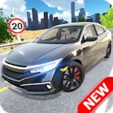 Car Simulator Civic: City Driving взлом